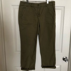 Loft Olive Green pants.